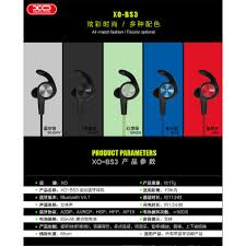<b>XO</b> BS3 <b>Sports</b> Magnetic <b>Bluetooth</b> Earphone | Shopee Philippines
