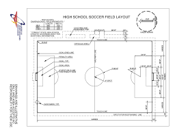 synthetic turf field construction buyer    s guide   asbahigh school soccer field layout