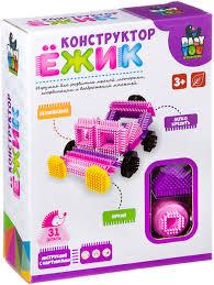 Пластиковый <b>конструктор Bondibon</b> Baby You <b>Ежик Машина</b> ...