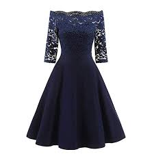 Accreate Clothing Women <b>Sexy</b> Slim Lace Dress Chic Elegant <b>Boat</b> ...