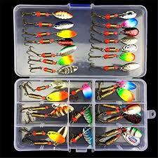 Buy Proberos® <b>Fishing</b> Lure Set <b>31pcs</b> | Artificial Soft Bait with Hook ...