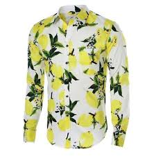 Clerence 2018 <b>Flower Mens Shirts</b> Long Sleeve <b>Hawaiian Men</b> ...