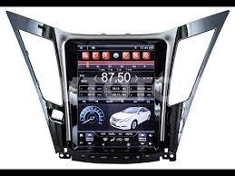 <b>Штатная магнитола</b> в стиле Tesla <b>Hyundai Sonata</b> YF (2011-2014 ...