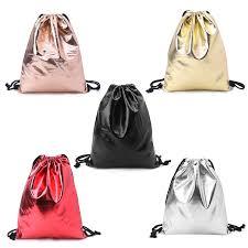 <b>Fashion Men Women</b> Unisex Waterproof Drawstring Backpack Bag ...
