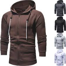 New Men's Fashion Hoodie Sweatshirts Pullover Casual Plus ... - Vova