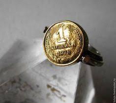 Мужское <b>кольцо</b> с зеленым турмалином, эмалью и ...