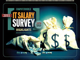 it salaries cash is back computerworld it salary survey 2015 cover slide