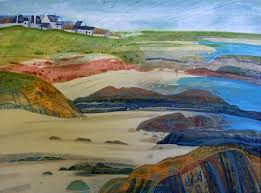 Spring Fling Open Studios » Deborah Campbell: My inspiration comes ... - Balmartine-Tiree-28cm-x-39cm