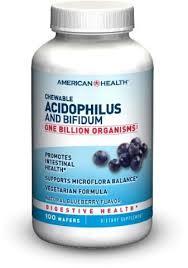 <b>Chewable Acidophilus And Bifidum</b> Wafers Dietary Supplement ...