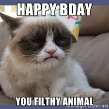 Birthday Grumpy Cat | Meme Generator via Relatably.com
