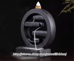 Home Decor Ceramic <b>Backflow Incense Holder Burner</b> The Round ...