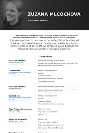 massage therapist resume samples   visualcv resume samples databasemassage therapist resume samples