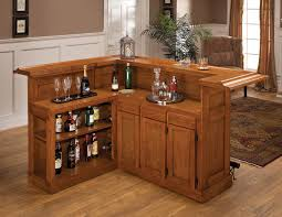 small bar furniture for apartment l shaped light brown stained oak wood mini counter bar with buy home bar furniture