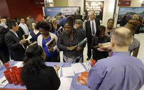 is this the new economic normal in the u s older workers low in this photo taken wednesday 10 2015 job seekers attend a job