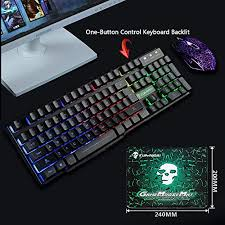 UrChoiceLtd® Wired Keyboard and Mouse Sets MeiYing <b>T6</b> ...