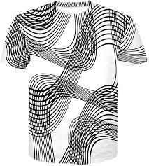 2019 Spring Summer Men's 3D Lines Printing T-Shirt ... - Amazon.com