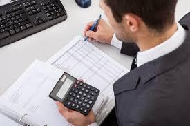man working calculator recruitment agency now man working calculator