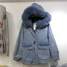 Women Winter Long Loose Hooded <b>Plush Jacket Coat</b> Parka Tops ...