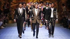 Dolce&Gabbana Spring <b>Summer 2019 Men's</b> Fashion Show ...