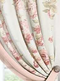 Купить комплект штор «Пальта» белый, розовый по цене 6960 ...