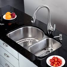 stainless steel sink racks ampquot whitehaven: kitchen kraus stainless steel kitchen sinks kraus sinks