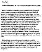 fight club essay questions   gradesaverfight club argument essay   angelfire