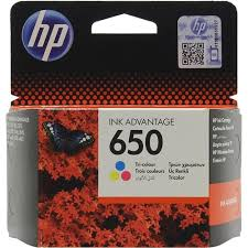 Оригинальный <b>картридж HP</b> CZ102AE (№650) (трёхцветный ...