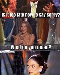 PICS] 2015 Miss Universe Memes — See Hilarious Pics After Steve ... via Relatably.com