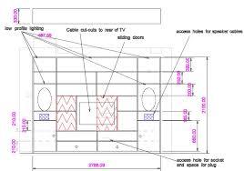 wall storage and tv unit bespoke wall storage