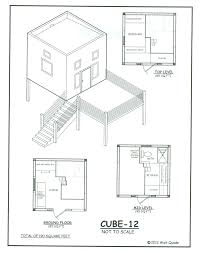 Tiny Homes   Small Home Oregoncube   small home plans