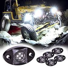 LAMPHUS 6pc Stardust SDRL14 <b>4x4</b> Offroad <b>LED</b> Rock Light Kit…