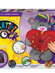 <b>Набор для творчества Danko</b> Toys Часы Мишка 1 СС-01-03 ...