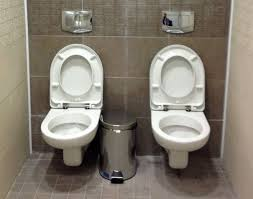 two toilets in one bathroom the sochi toilet   seeing double the sochi toilet