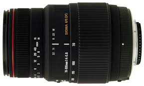 <b>Объектив Sigma AF</b> 70-300mm f/4-5.6 APO Macro DG <b>Nikon</b> F ...