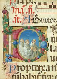 the art of the book in the middle ages essay heilbrunn manuscript illumination singing monks in an initial d from a psalter