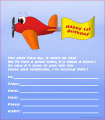 20 cute 1st birthday invitations printable and original red plane flag on 1 birthday invite and printable