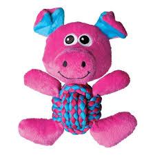 <b>Игрушка</b> для собак <b>KONG Weave</b> Knots Свинка средняя 22х20 см ...