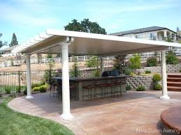 Freestanding Covered Patio With Free Standing Covers