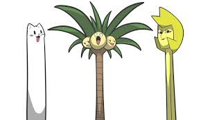Image result for yellow diamond and alola exeggutor