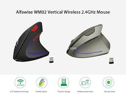 <b>Alfawise WM02 Vertical Wireless</b> 2.4GHz Mouse For Just $6.99 at ...