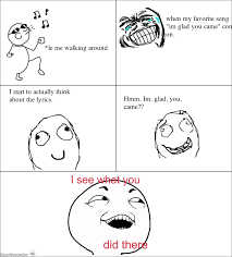 RageGenerator - Rage Comic - Im glad you came. via Relatably.com