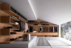 walk in closet with sloped ceiling architecture awesome modern walk closet