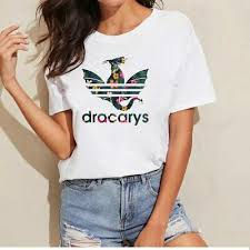 <b>Dracarys T</b>-<b>Shirt</b> Sport Game Of Thrones <b>Women</b> Game Summer ...