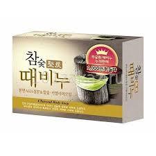 <b>Мыло</b>-<b>скраб древесный</b> уголь Mukunghwa Charcoal Scrub Soap