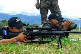 u s department of defense photo essay a sniper from a honduran special operations team lines up his target the help of