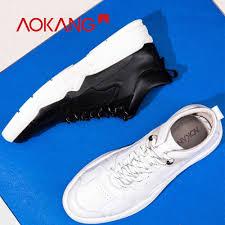 <b>AOKANG</b> 2019 Spring <b>New Arrival</b> Shoes <b>Men</b> Genuine Leather ...