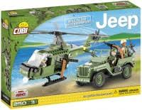 <b>Конструктор COBI Jeep Willys</b> MB with Helicopter 24254 (24254)