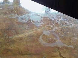 countertops granite marble: granite shield marble shield etching on marble repairing amp sealing