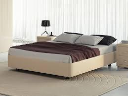 <b>Кровать</b> Rocky Base (Экокожа Бежевый) 160x200 недорого с ...