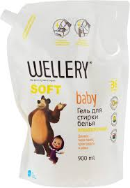 <b>Жидкое средство</b> для стирки <b>Wellery</b> Soft Baby, 4640015110996 ...